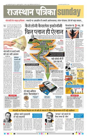 Bikaner Rajasthan Patrika - Read on ipad, iphone, smart phone and tablets.