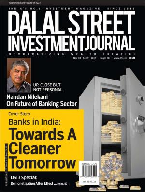 Dalal Street Investment Journal Vol 31 Issue no 26 , November 28, 2016