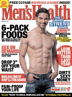 Men's Health-April 2013 - Read on ipad, iphone, smart phone and tablets.