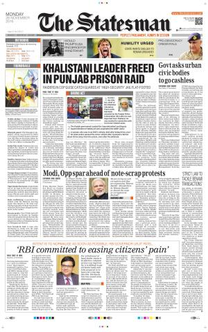 Bhubaneswar - The Statesman  - Read on ipad, iphone, smart phone and tablets.