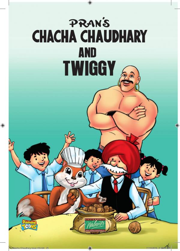 CHACHA CHAUDHARY AND CALIFORNIA WALNUT e-book in English by PRANS