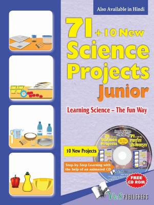 71+10 NEW SCIENCE PROJECT JUNIOR (Hindi) (WITH CD) - Read on ipad, iphone, smart phone and tablets.