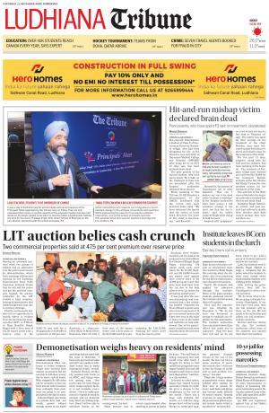 Ludhiana Tribune - Read on ipad, iphone, smart phone and tablets