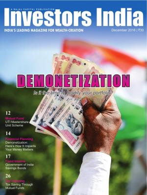 DEMONETIZATION Is it the time to modify your portfolio?