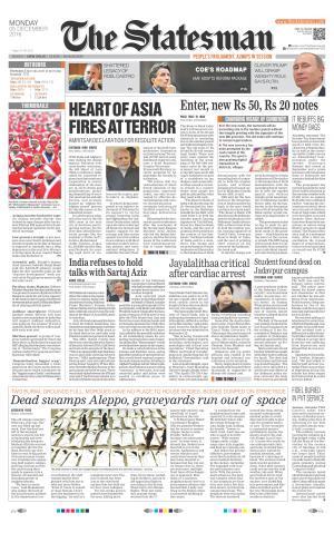 Delhi - The Statesman - Read on ipad, iphone, smart phone and tablets