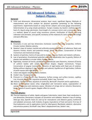 Education-News-JEE-Advanced-2017-Syllabus-Physics