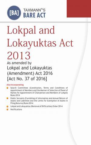 Lokpal and Lokayuktas Act 2013
