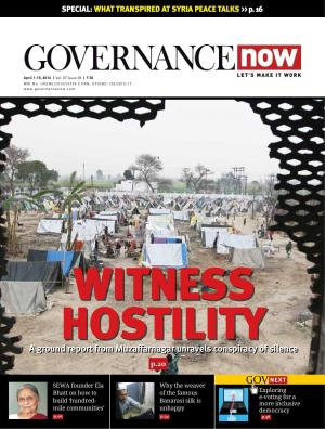 Governancenow Volume 7 Issue 5