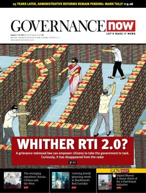 Governancenow Volume 7 Issue 13