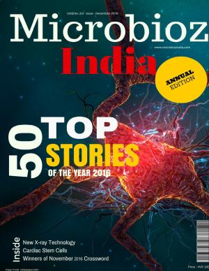 50 Top Stories of the year,Microbioz India,December 2016