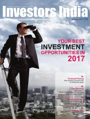 Your Best Investment Opportunities in 2017