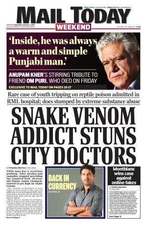 Mail Today Issue, January 7, 2017