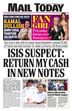 Mail Today issue January 10, 2017