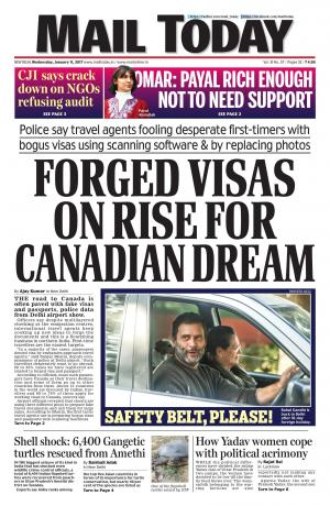 Mail Today issue January 11, 2017