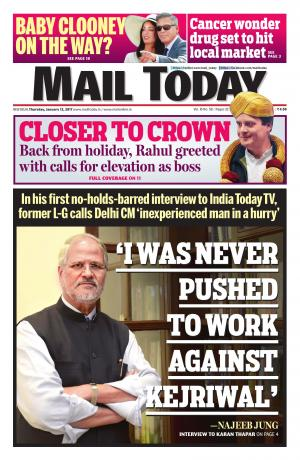 Mail Today issue January12, 2017
