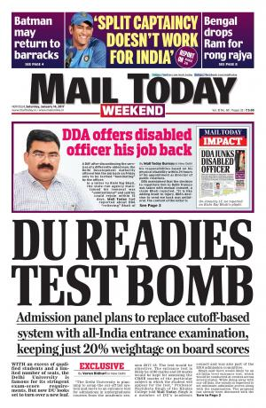 Mail Today Issue January 14, 2017