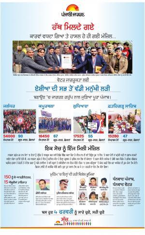 Jagraon : Punjabi jagran News : 1st February 2017