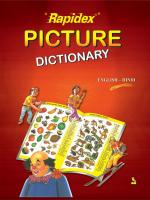 Rapidex Picture Dictionary