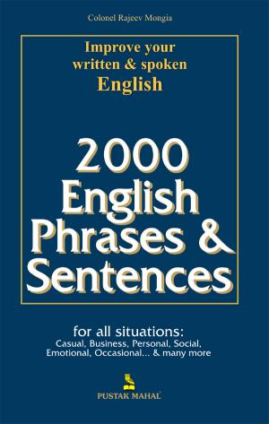 2000 English Phrases & Sentences e-book in English by Pustak