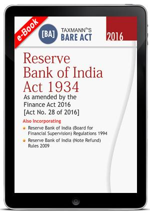 Reserve Bank of India Act 1934