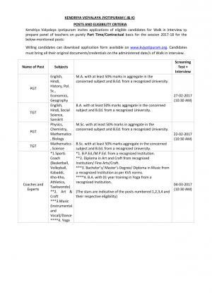 Job Notification / Results