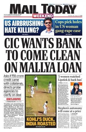 Mail Today Issue February 25, 2017