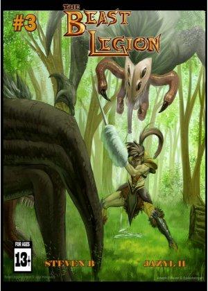 Beast Legion #3 - Read on ipad, iphone, smart phone and tablets.