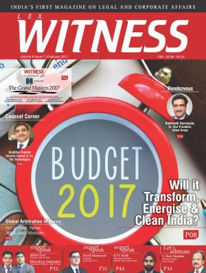 Lex WITNESS - India's First Magazine on Legal & Corporate Affairs