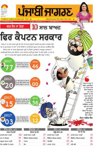 BATHINDA : Punjabi jagran News : 12th March 2017