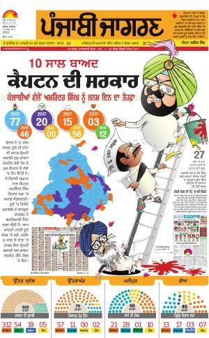 JALANDHAR: Punjabi jagran News : 12th March 2017