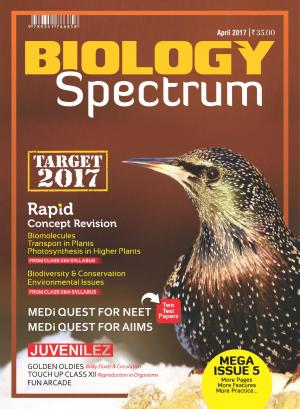 Spectrum Biology - April 2017