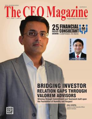 The CEO Magazine Financial Consultants April 2017