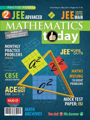 Mathematics Today- May 2017