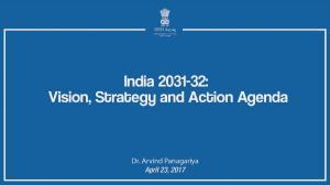 India 2031-32 Vision Strategy amd Action Plan