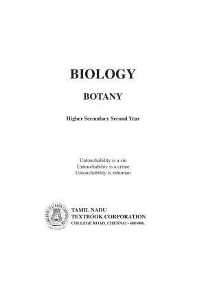 + 12 BIOLOGY TAMILNADU BOOK