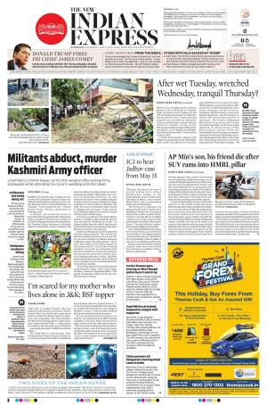 The New Indian Express-Hyderabad