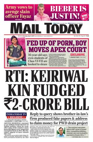 Mail Today Issue May 11, 2017