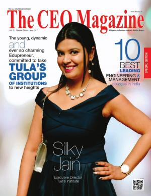 The CEO Magazine, 10 Best Leading Engineering & Management colleges in India (Special Edition May 2017)