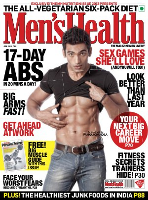 Men's Health-June 2013 - Read on ipad, iphone, smart phone and tablets.