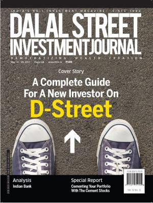Dalal Street Investment Journal, Volume 32 Issue no 12, May 15 , 2017