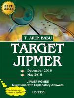 TARGET JIPMER (DECEMBER & MAY 2016)
