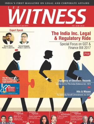 Lex Witness April 2017 Edition
