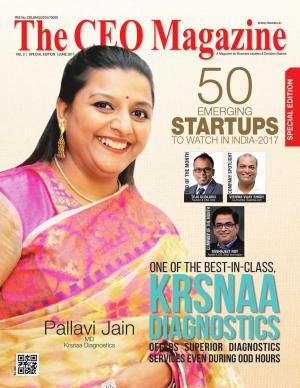 The CEO Magazine June Special Issue: 50 Emerging Startups in India