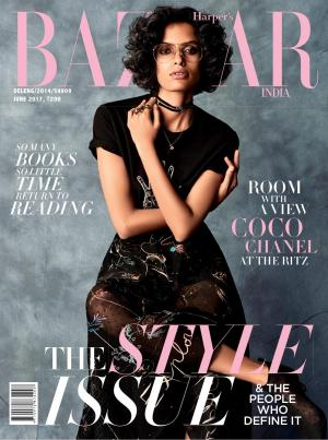 Harpers Bazaar India- June 2017