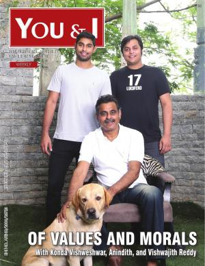 June 19, 2017- Issue-21 Konda Vishweshwar, Anindith, and Vishwajith Reddy;