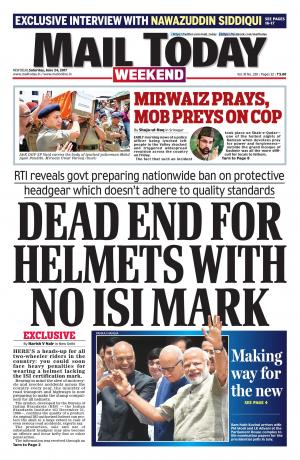 Mail Today issue, June 24, 2017