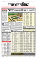 Rajasthan Patrika Ganganagar