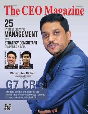 The CEO Magazine, Management & Strategy Consultant, July 2017