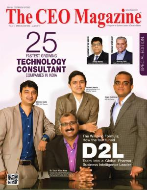 The CEO Magazine, Technology Consultant, July 2017