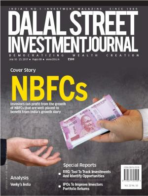 Dalal Street Investment Journal, Volume 32 Issue no 16, July 10, 2017
